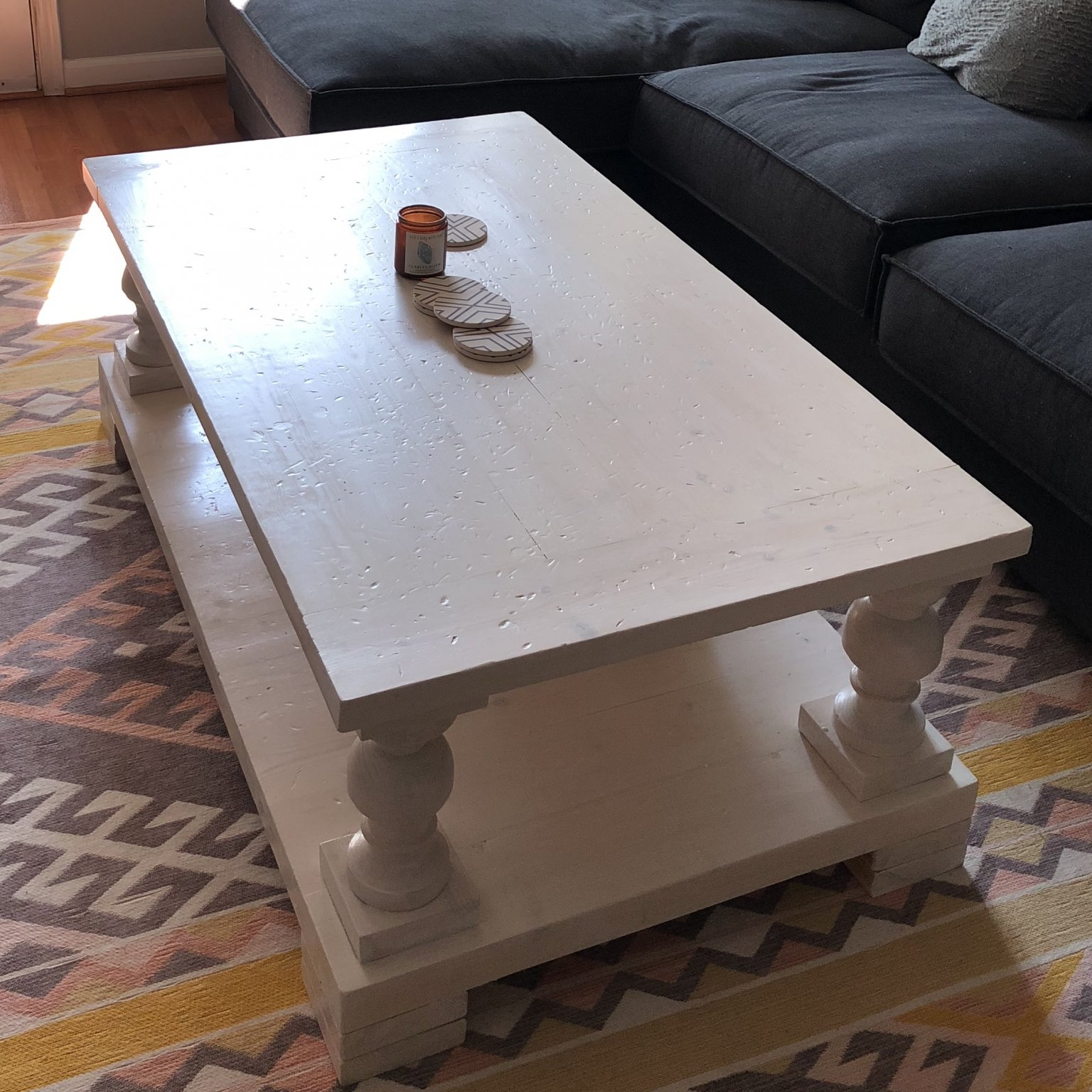 Beautiful Coffee Table No Idea What To Put On It